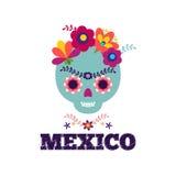 墨西哥样式,美好的种族ornamert 免版税库存照片