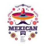 墨西哥样式,美好的种族ornamert 库存照片