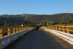 墨西哥桥梁道路 免版税库存图片