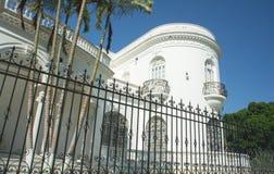 墨西哥殖民地豪宅 库存照片