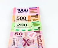 墨西哥比索 免版税库存照片