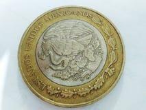 墨西哥比索 免版税图库摄影