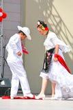 墨西哥民间舞 库存照片