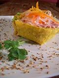 墨西哥沙拉蔬菜 免版税库存图片