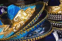 墨西哥流浪乐队帽子 免版税库存照片