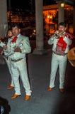 墨西哥流浪乐队街道音乐家 库存图片