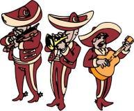 墨西哥流浪乐队 免版税库存图片
