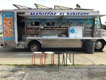 墨西哥海鲜食物卡车 库存照片