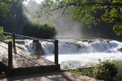 墨西哥瀑布 免版税库存图片