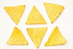 墨西哥烤干酪辣味玉米片 免版税图库摄影