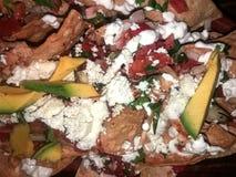 墨西哥烤干酪辣味玉米片 库存图片