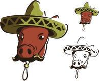 墨西哥猪 免版税图库摄影