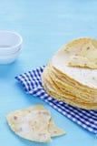 墨西哥玉米粉薄烙饼 免版税库存图片