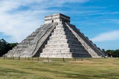 墨西哥玛雅人尤加坦奇琴伊察老废墟 库存图片