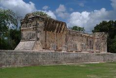 墨西哥玛雅废墟 图库摄影