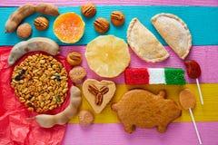 墨西哥甜点和酥皮点心cajeta罗望子果 免版税图库摄影