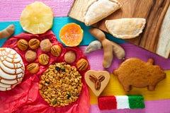墨西哥甜点和酥皮点心cajeta罗望子果 图库摄影