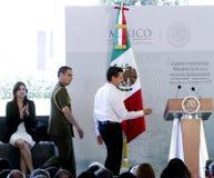 墨西哥的总统, Enrique Peña Nieto 库存图片