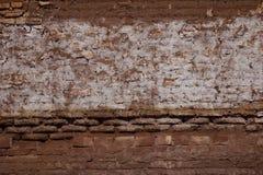 墨西哥的老和多灰尘的墙壁 库存照片