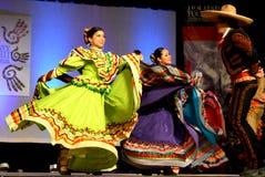 墨西哥的舞蹈演员 免版税库存图片