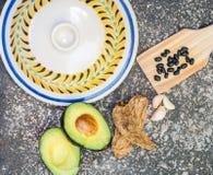 墨西哥的食品成分 免版税库存照片