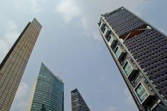 墨西哥的,城市摩天大楼 免版税库存照片