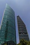 墨西哥的,城市摩天大楼 免版税库存图片