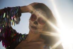墨西哥糖果短桨 免版税库存照片