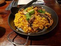 墨西哥肉菜饭 库存图片