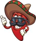 墨西哥胡椒 向量例证