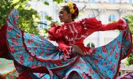 墨西哥舞蹈家 库存图片