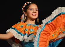 墨西哥舞蹈家 库存照片
