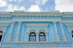 墨西哥蓝色大厦 库存图片