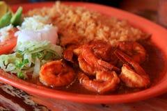 墨西哥虾 免版税库存图片