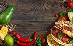 墨西哥街道食物 免版税库存照片