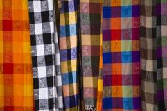 墨西哥被编织的毯子 库存图片