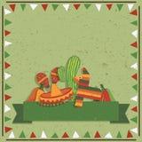 墨西哥装饰 库存图片