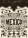 墨西哥西部元素集-墨西哥假日 免版税库存图片