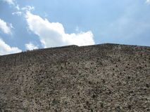 墨西哥金字塔 免版税库存照片
