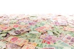 墨西哥金钱背景 免版税库存照片