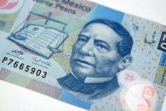 墨西哥金钱 免版税库存图片