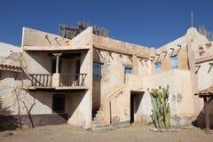 墨西哥镇村庄 免版税库存照片