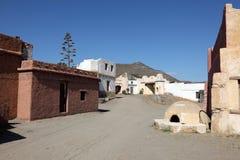 墨西哥镇村庄 图库摄影