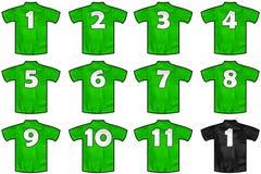 墨西哥队衬衣 免版税库存图片