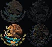 墨西哥集合符号 免版税库存照片