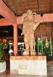 墨西哥雕塑 免版税库存图片