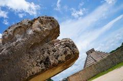 墨西哥雕塑 免版税图库摄影