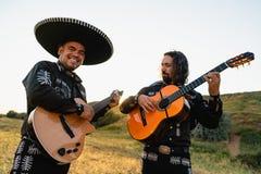 墨西哥音乐家墨西哥流浪乐队 库存照片