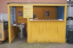 墨西哥食物卡车 图库摄影