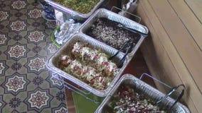 墨西哥食物餐馆自助餐承办酒席 影视素材